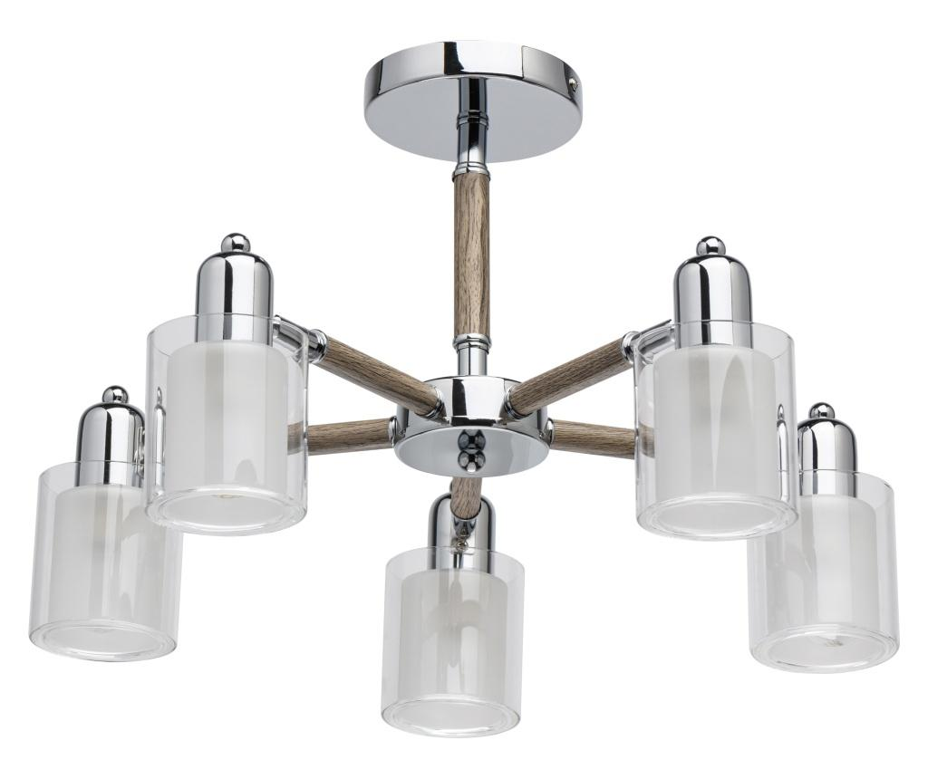 Lustra Forest - Functional Lighting, Alb,Gri & Argintiu