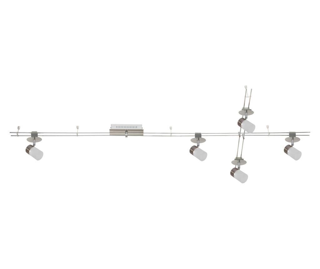 Aplica de tavan Track-system - Functional Lighting, Gri & Argintiu