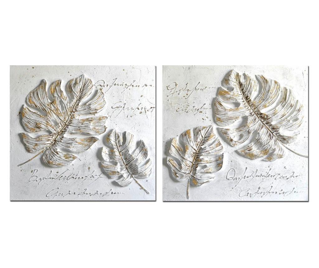 Set 2 tablouri 100x100 cm - Garpe Interiores