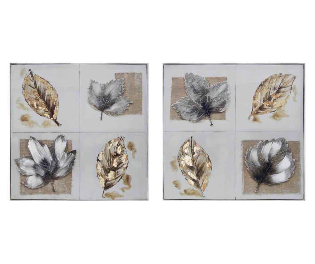 Set 2 tablouri 82x82 cm - Garpe Interiores