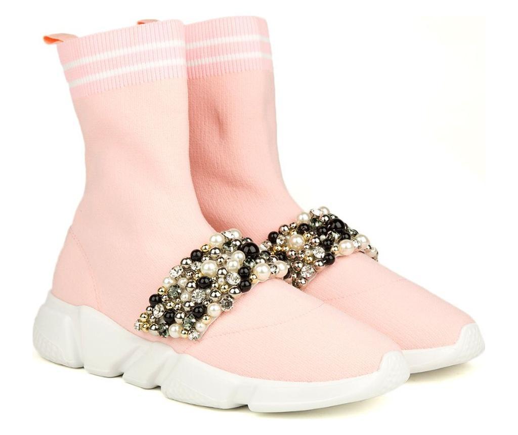 Pantofi dama 38 - Nila & Nila, Roz