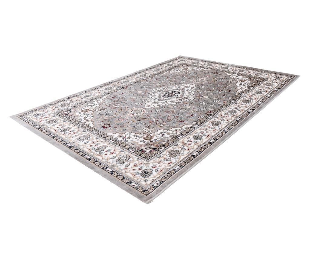 Covor Isfahan 120x170 cm - Obsession, Gri & Argintiu
