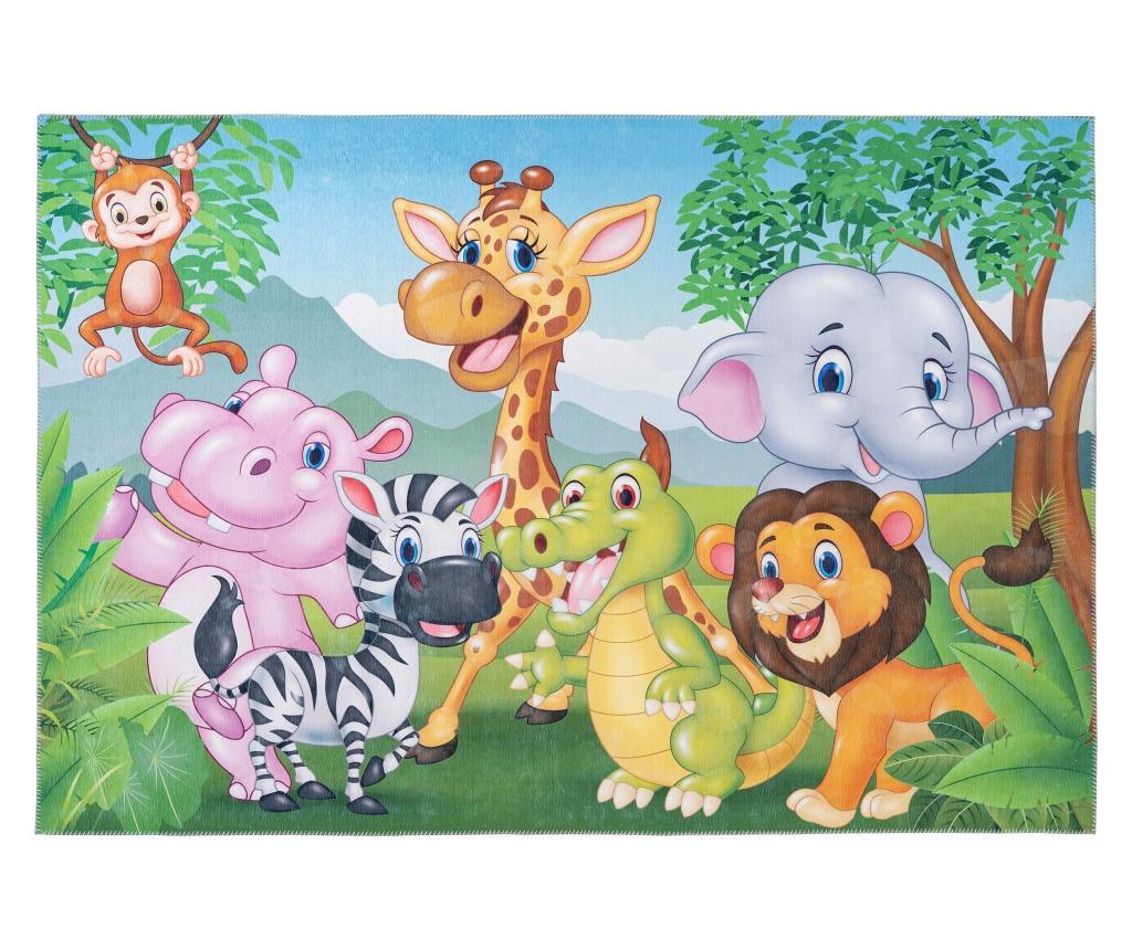 Covor My Torino Kids 80x120 cm - Obsession, Multicolor