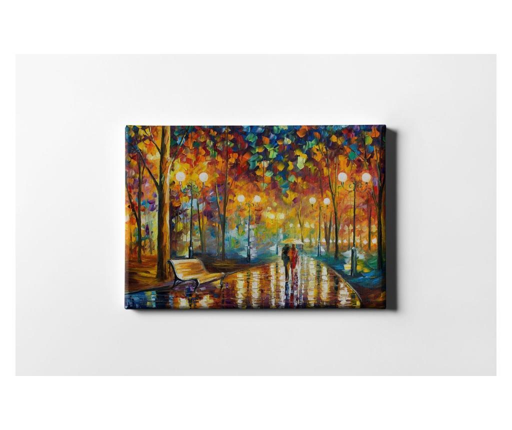 Tablou Street Lights 50x70 cm - CASBERG, Multicolor
