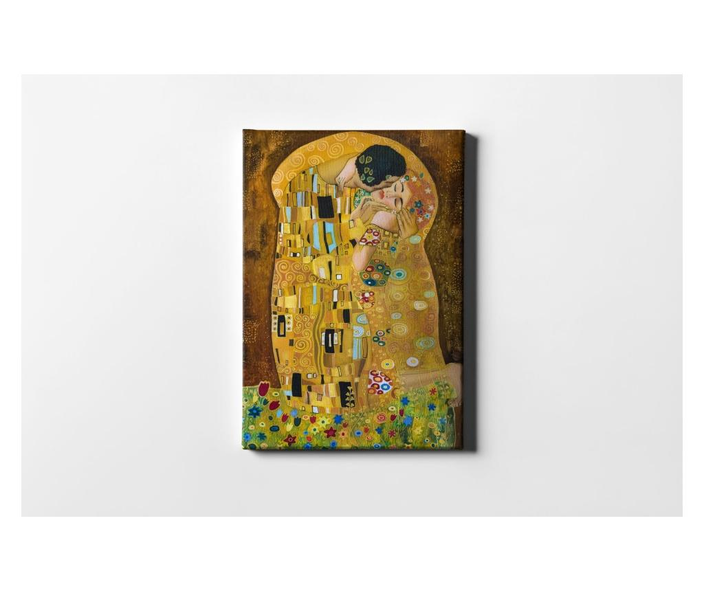 Tablou Ethnic Woman Man 40x60 cm - CASBERG, Multicolor