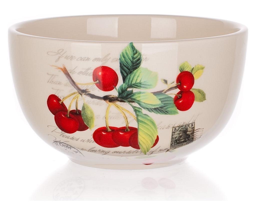Cherry Mély tál 350 ml