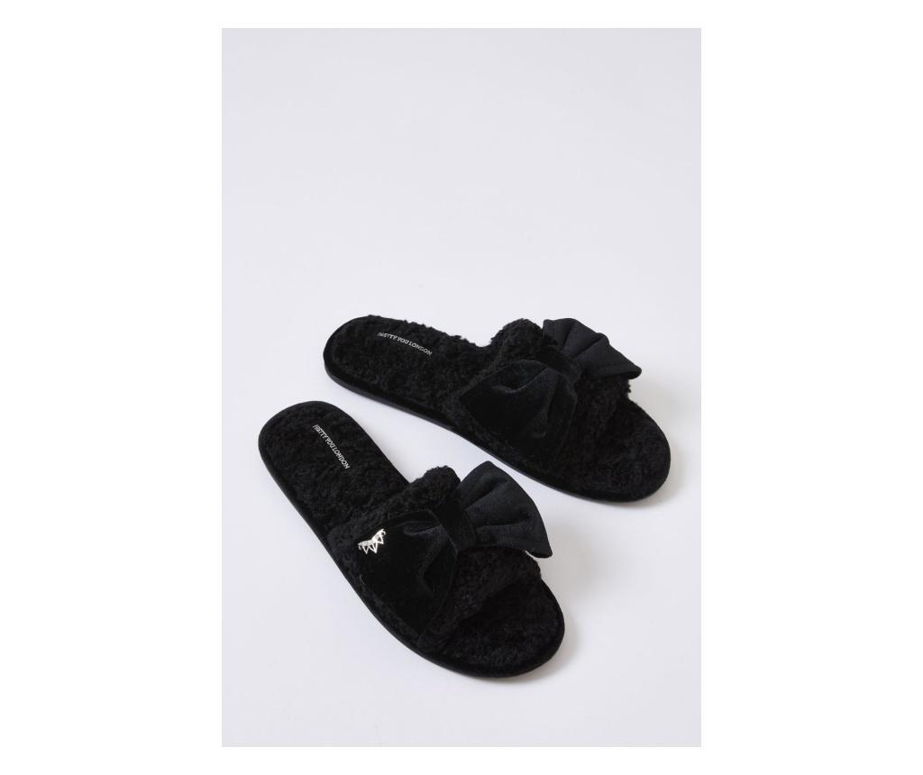 Ženske papuče Matilda Black 40-41