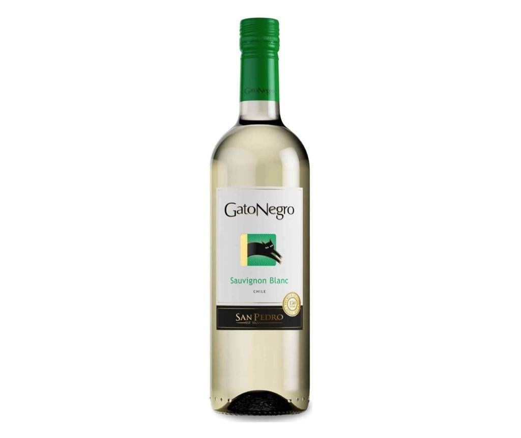 Vin alb San Pedro Gato Negro Sauvignon Blanc 750 ml