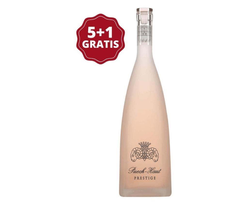 Set 6 sticle de vin rose Chateau Puech Haut Prestige Rose Special Edition 750 ml