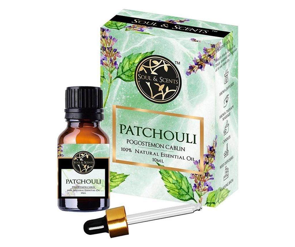 Set  ulei esential si pipeta Patchouli 10 ml