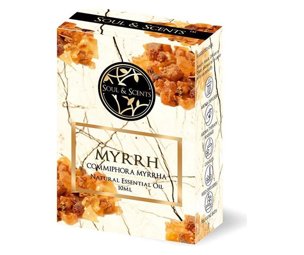 Set  ulei esential si pipeta Myrrh 10 ml