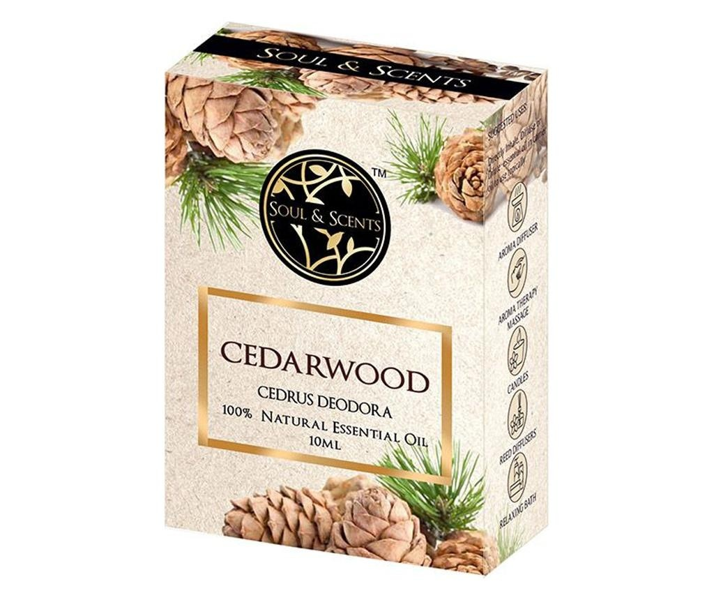 Set eteričnega olja in kapalke Cedarwood 10 ml