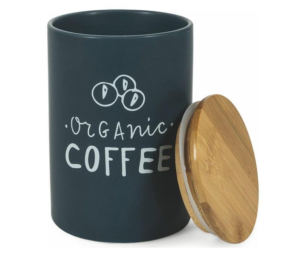 Natural Tároló hermetikus fedővel  kávénak