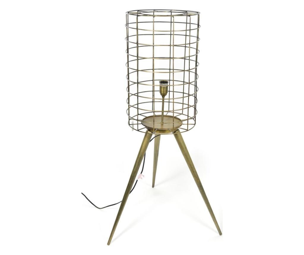 Lampadar Deco Design - Mercury , Galben & Auriu