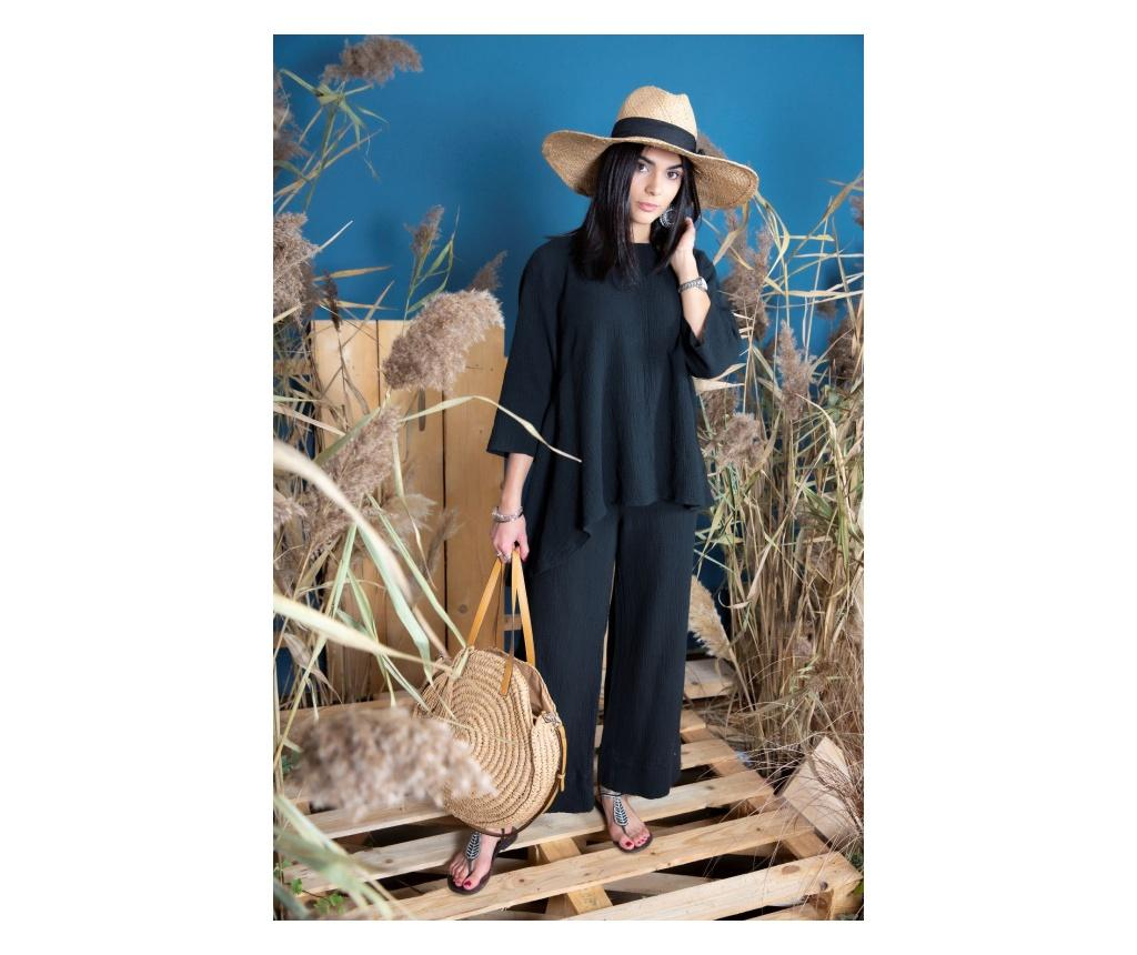 Pantaloni dama Florencio L/XL - Chez Moi, Negru