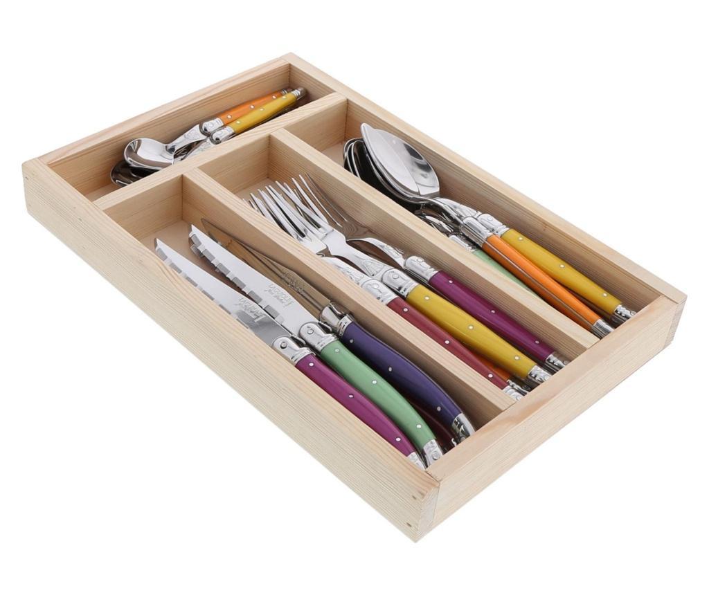 Set Tacamuri 24 Piese Fruity - Jean Dubost, Multicolor