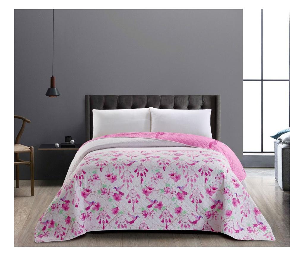 Cuvertura matlasata reversibila Sweetdreams 240x260 cm - DecoKing, Alb