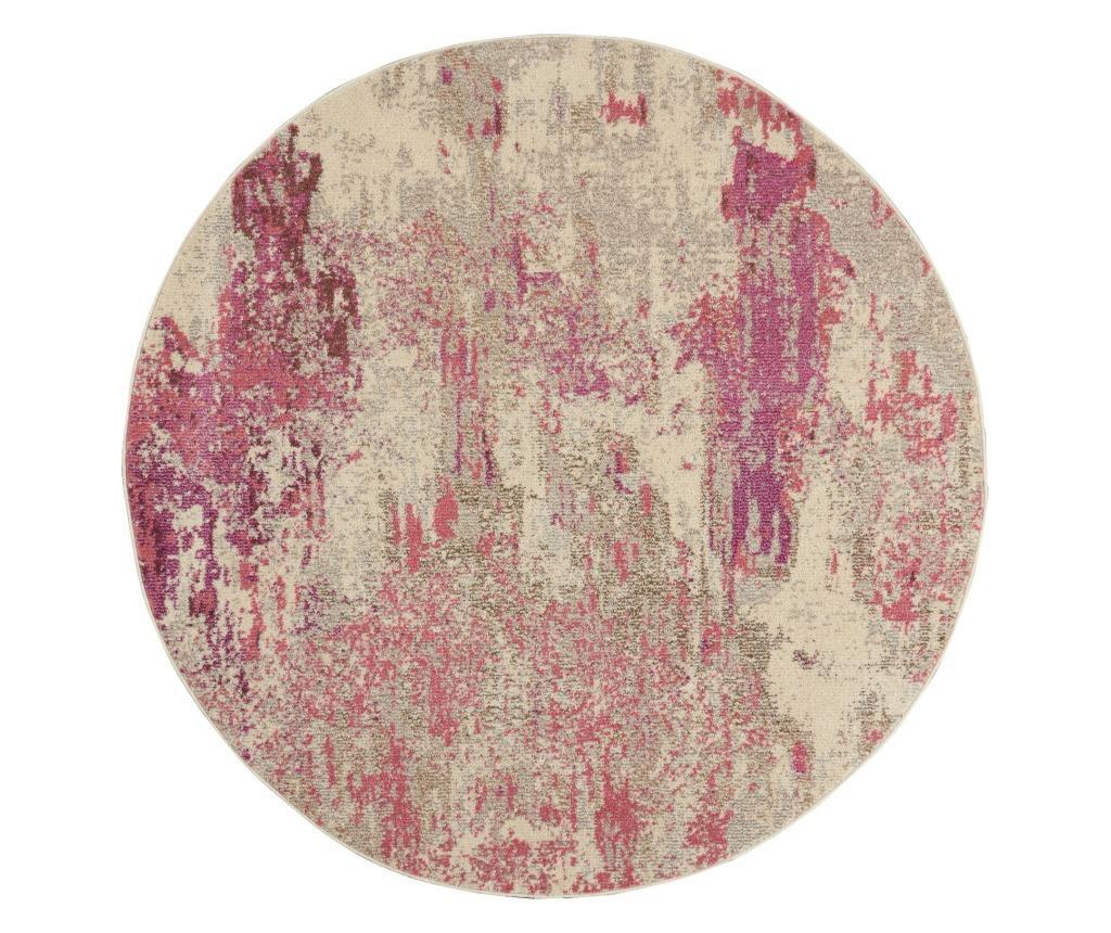 Covor 160x160 cm - Nourison, Mov,Roz