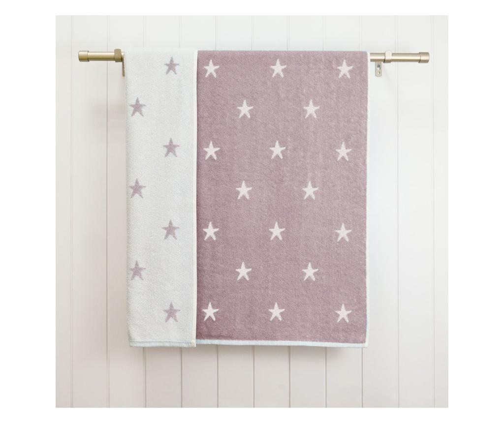 Prosop de baie Stars Purple 70x120 cm - Ardenza, Mov