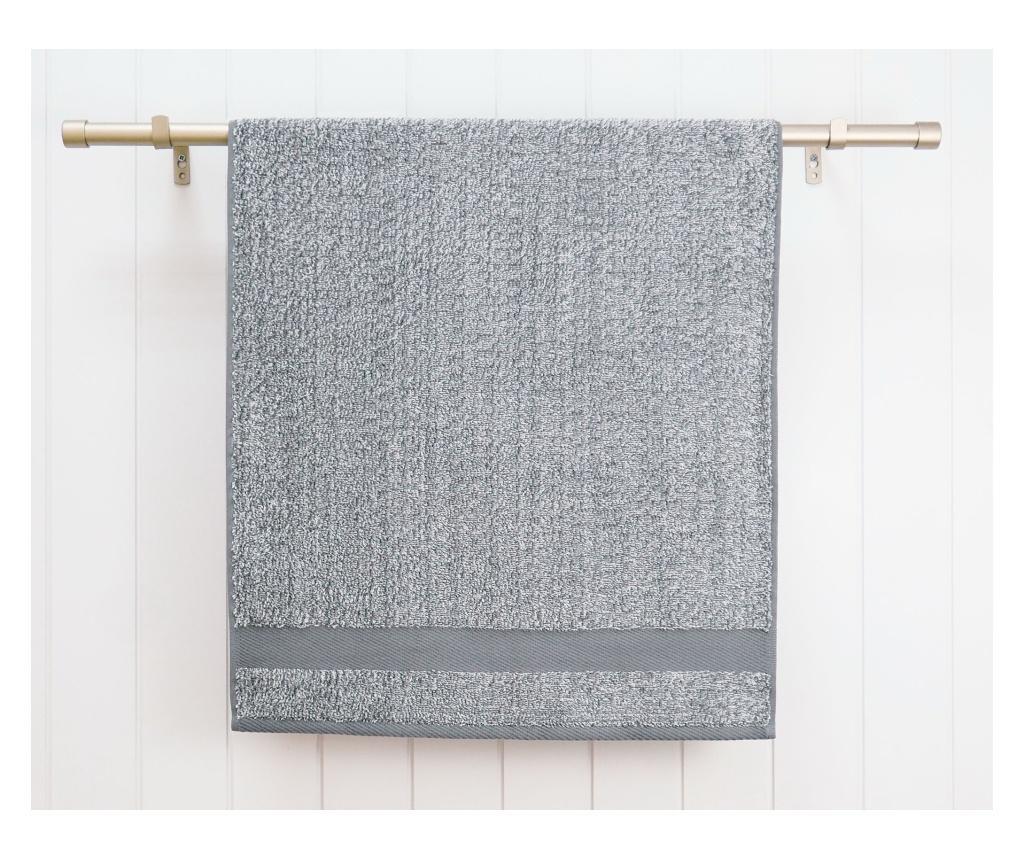 "<span class=""title-long"">Prosop de baie Melange Grey 70x140 cm - Ardenza, Gri & Argintiu</span>"