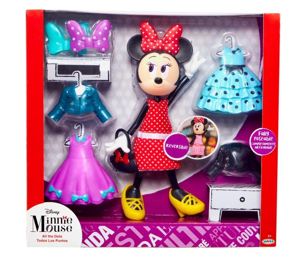 "Papusa cu accesorii Minnie Mouse - ""It's All About the Dots"" - Jakks Pacific, Multicolor"