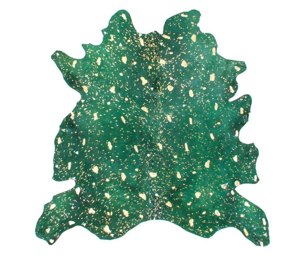 Covor Fabienne Flaschen Green Gold 90x160 cm - Kayoom, Verde