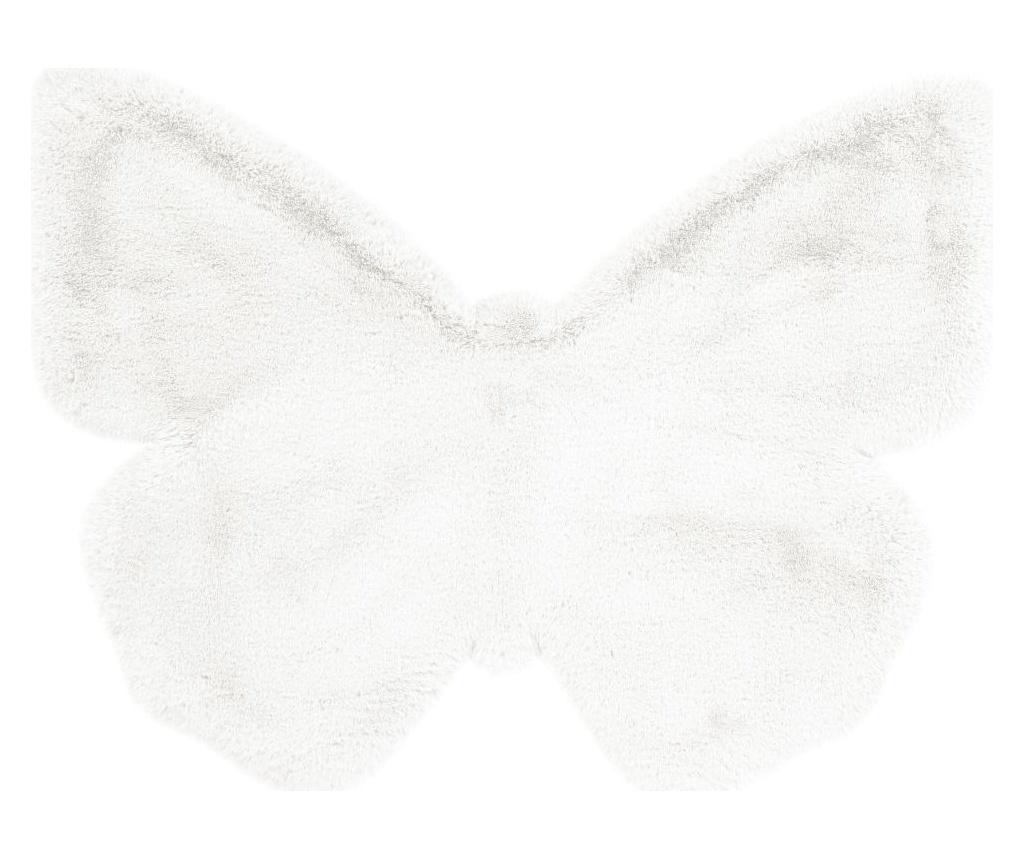 Kayoom Covor Fluffy Kids Butterfly White