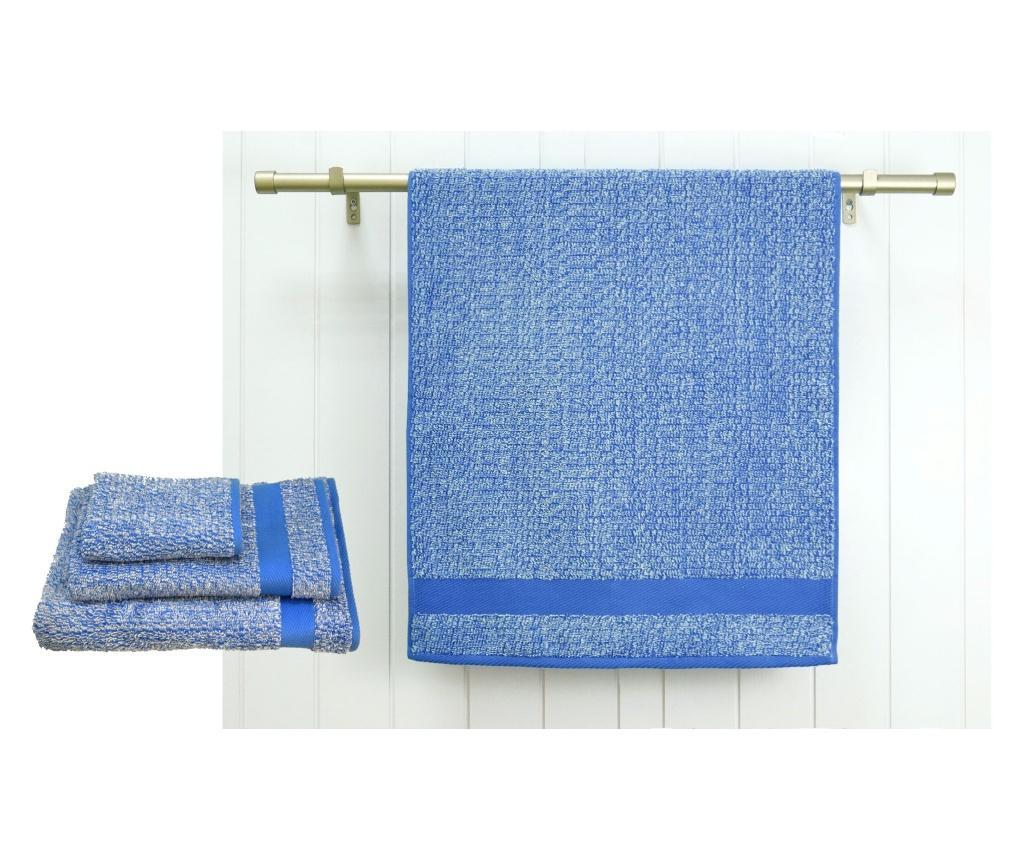 Prosop de baie Melange Blue 70x140 cm - Ardenza, Albastru