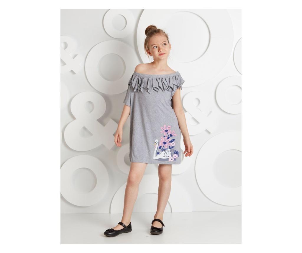 Otroška obleka Swan 7 years