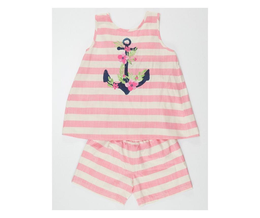 Otroški komplet - majica brez rokavov in hlače Anchor 5 years