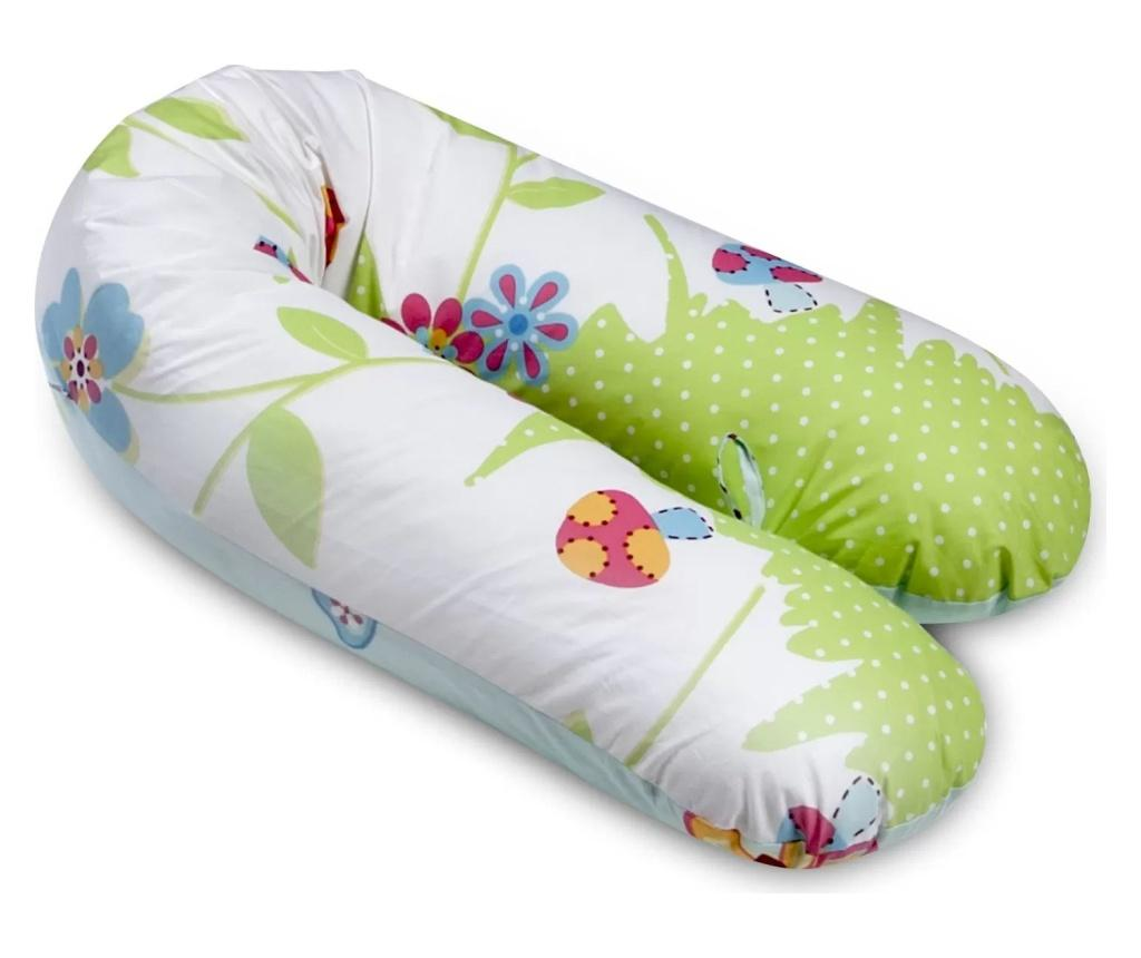 Perna 3 in 1 Butterfly 30x160 cm - SomnArt, Multicolor