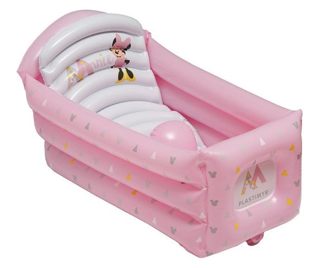Cadita gonflabila pentru copii Pink - PLASTIMYR, Roz