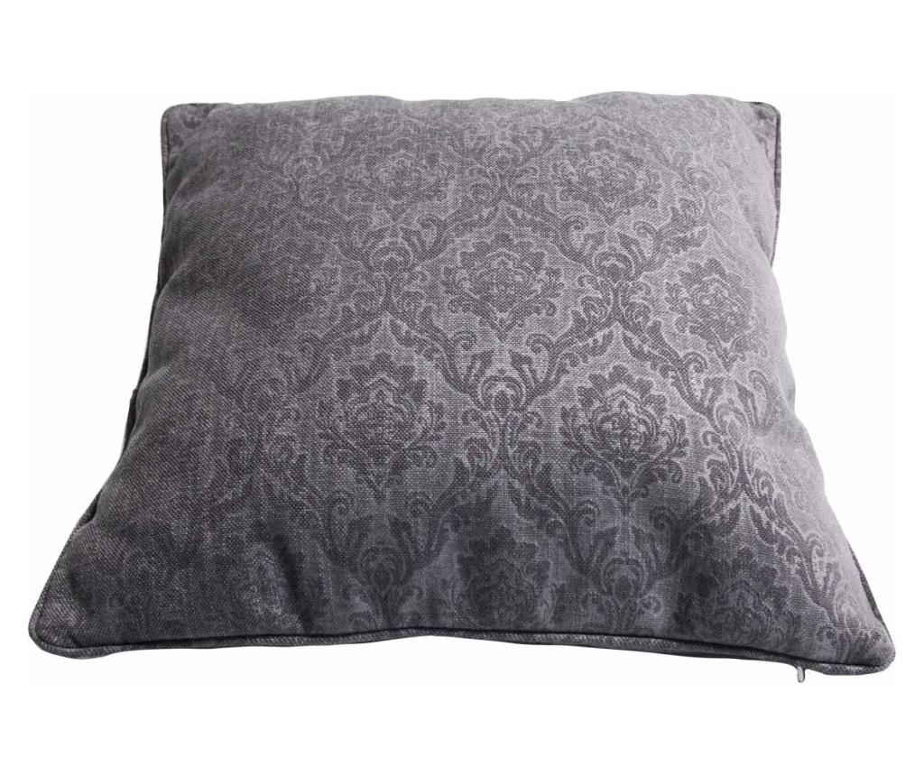 Perna decorativa 60x60 cm - Innovaliving, Gri & Argintiu