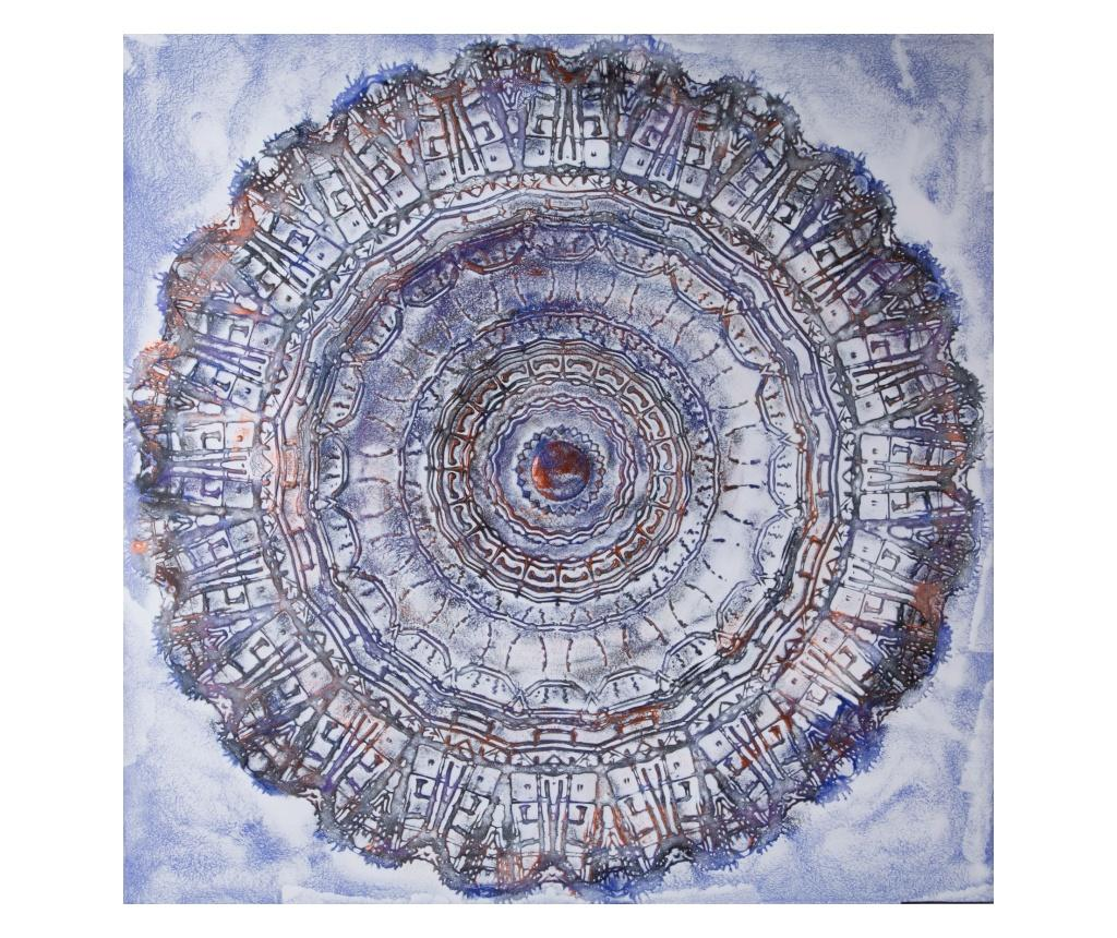 Tablou 100x100 cm - Eurofirany, Albastru