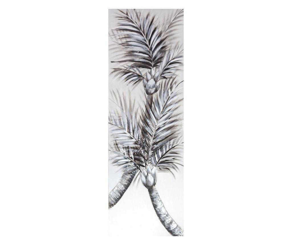 Tablou 50x150 cm - Eurofirany, Gri & Argintiu