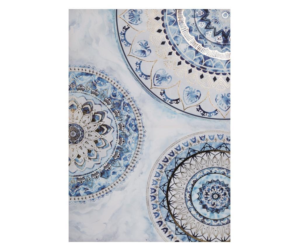 Tablou 60x90 cm - Eurofirany, Albastru imagine 2021