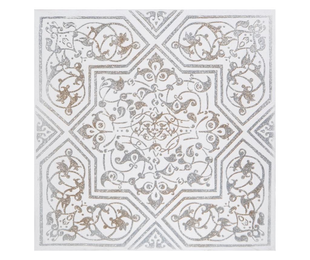 Tablou 60x60 cm - Eurofirany, Gri & Argintiu