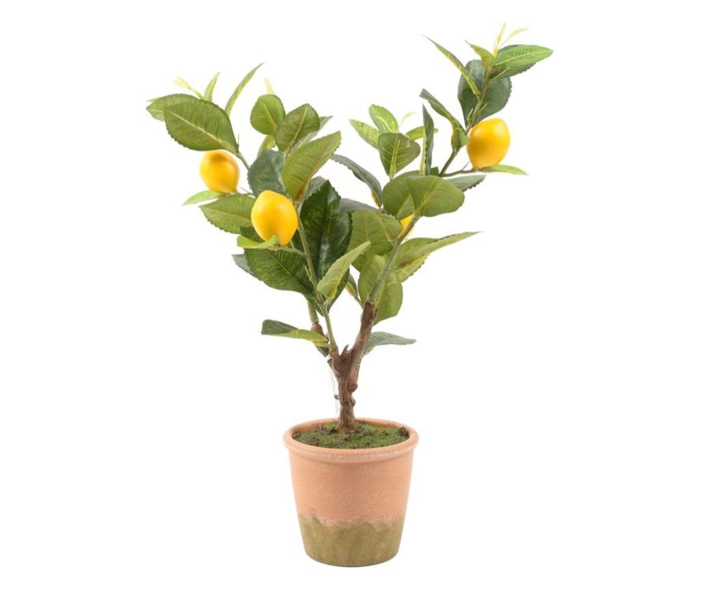 Planta artificiala in ghiveci Lemon - Mercury , Multicolor