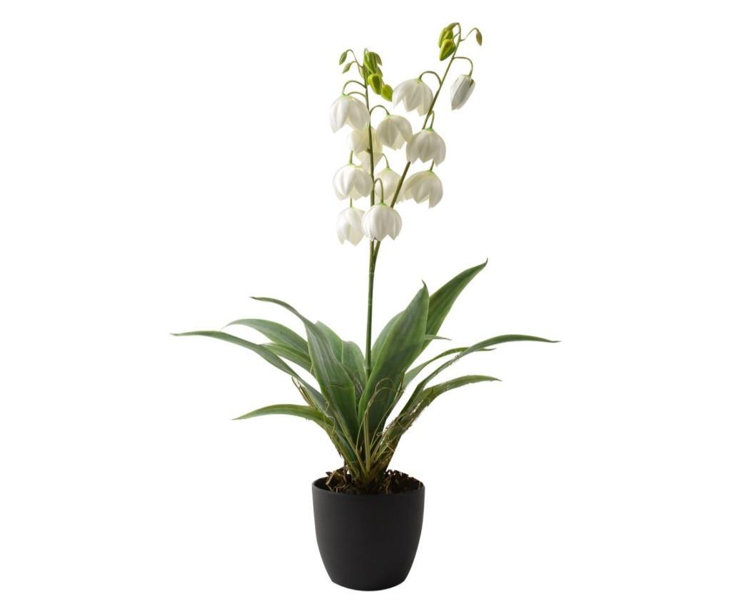 Planta artificiala in ghiveci Campanule - Mercury , Multicolor