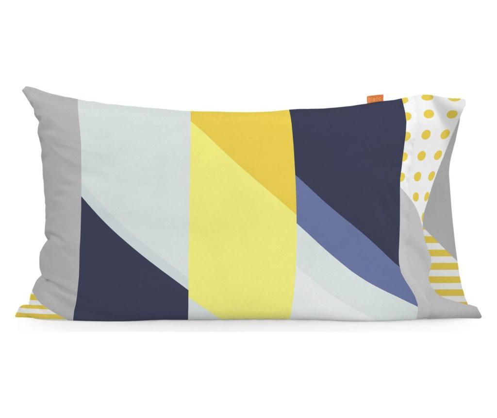 Set 2 fete de perna Geo Dot 50x80 cm - BLANC, Multicolor