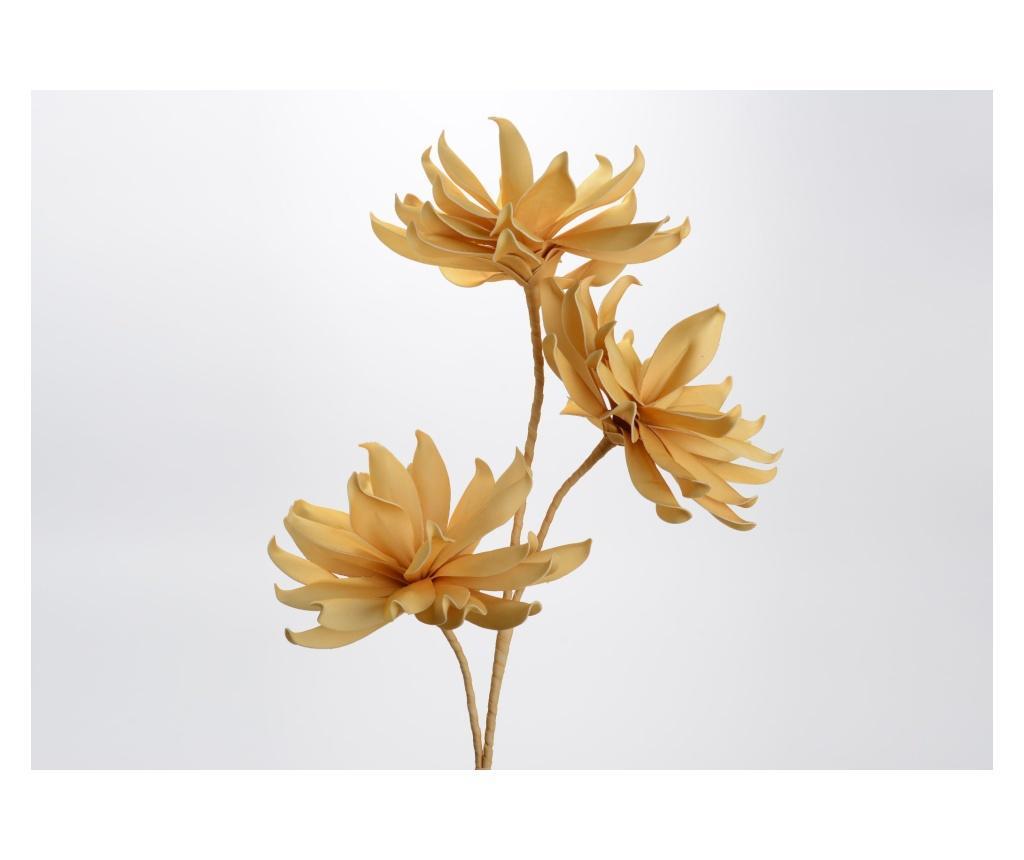 Floare artificiala Korb - Amadeus, Galben & Auriu