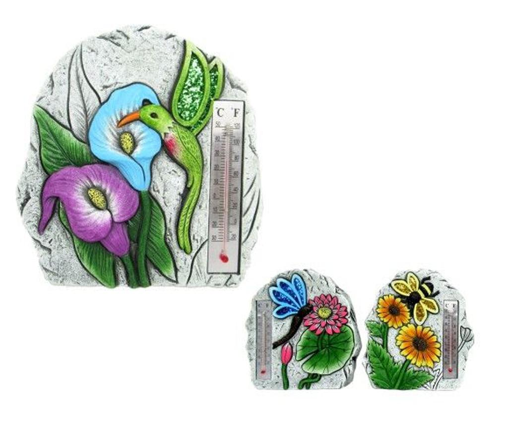 Set 3 decoratiuni de gradina - Fedor, Multicolor