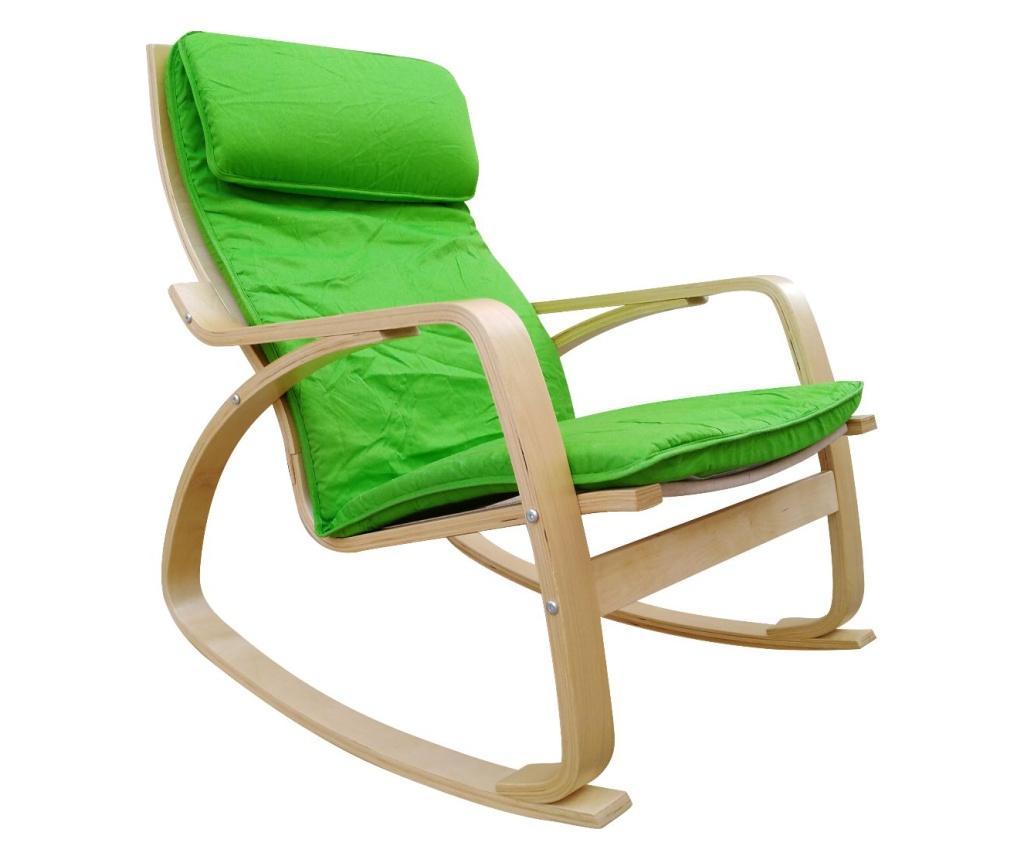 Scaun balansoar - Casa dolce, Verde