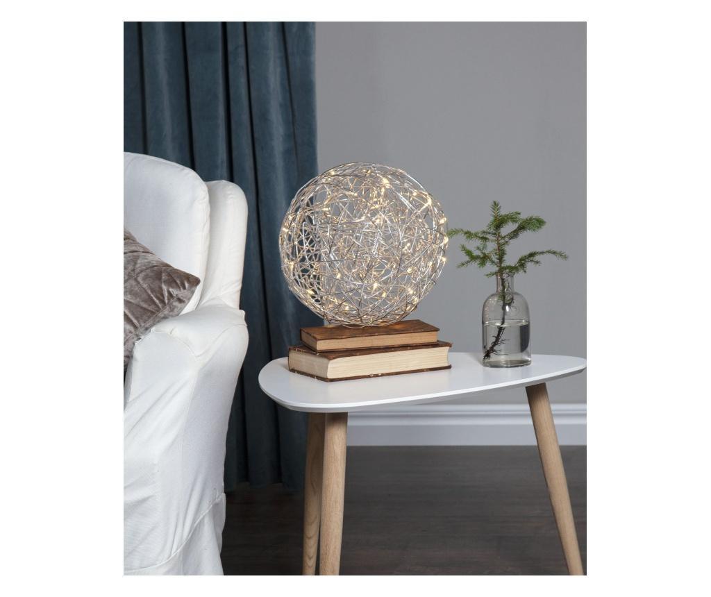 Decoratiune luminoasa de exterior - Best Season, Gri & Argintiu