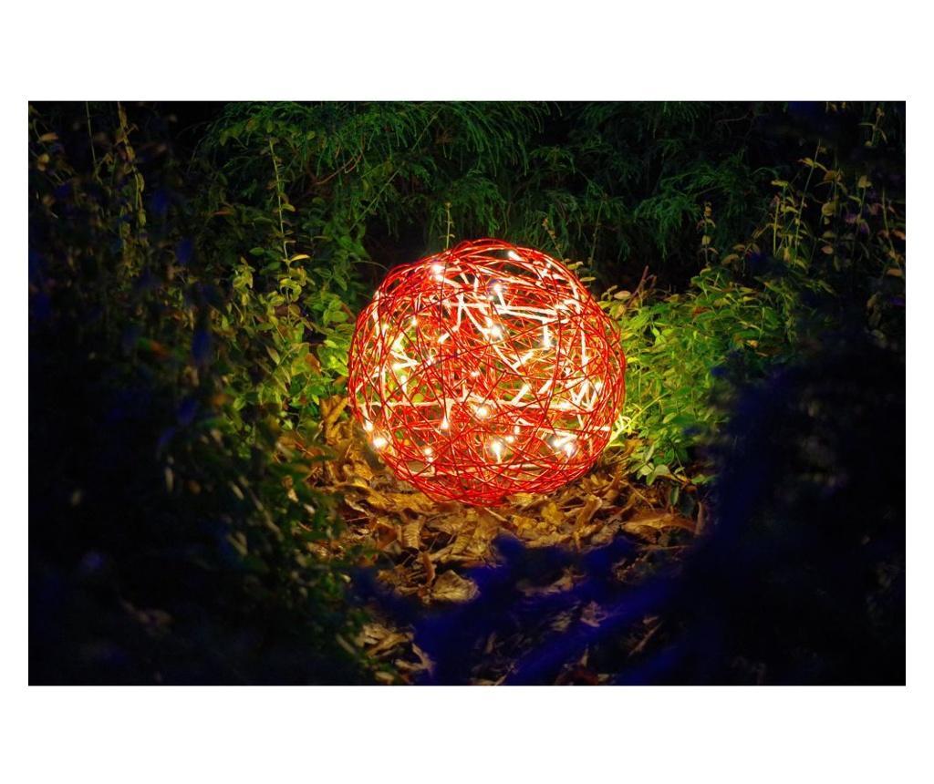 Decoratiune luminoasa de exterior - Best Season, Rosu