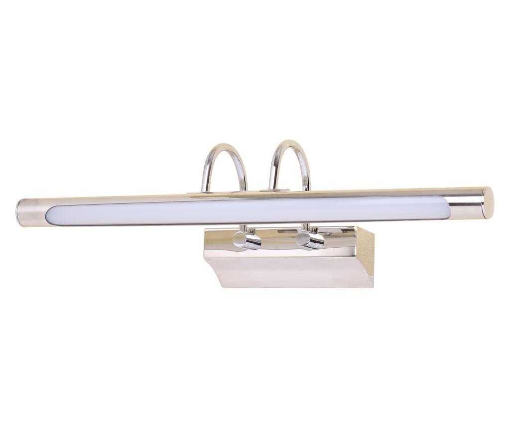 Aplica de perete Linea - Candellux Lighting, Gri & Argintiu