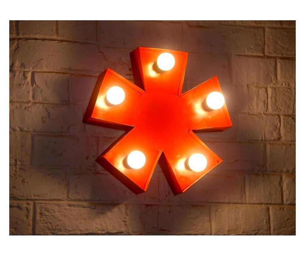 Decoratiune luminoasa de perete - SIT Möbel, Rosu
