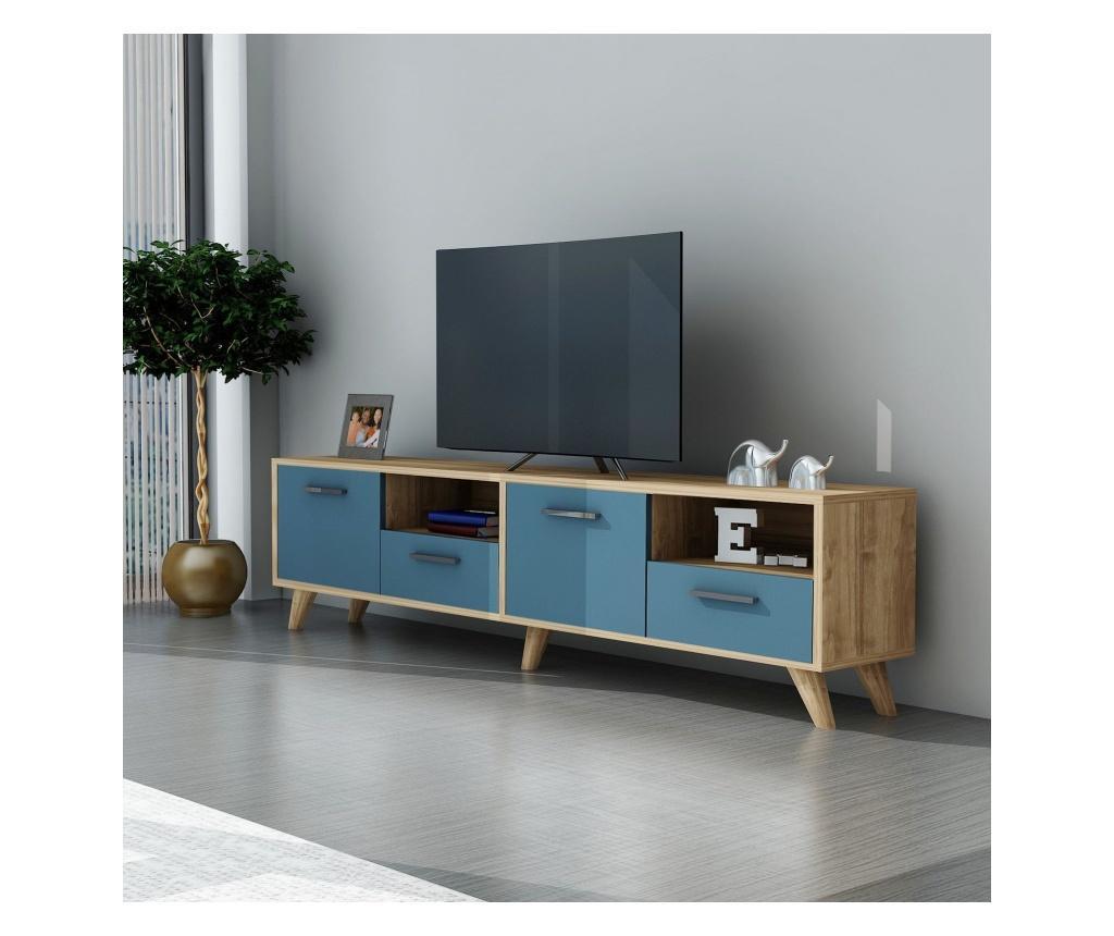 Comoda Tv Concept Albastru