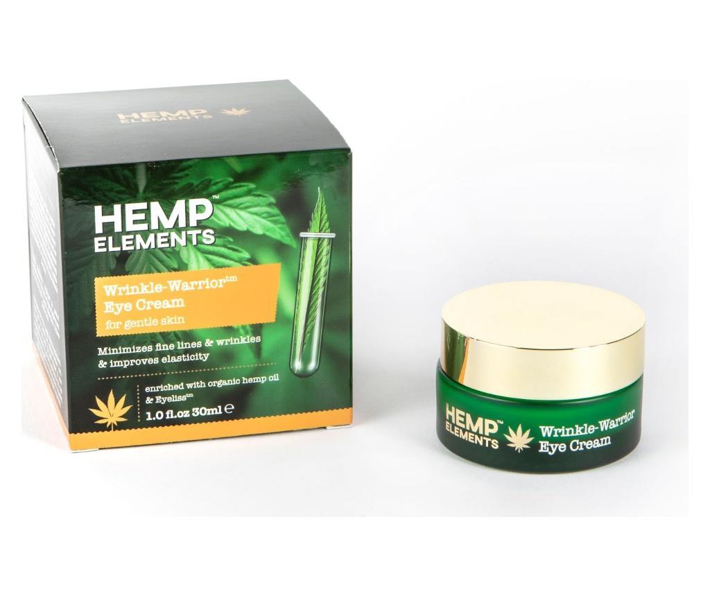 Crema de ochi Hemp Wrinkle Warrior 30 ml - HEMP ROSE