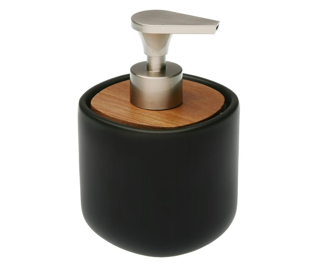 Dispenser sapun lichid - Versa, Negru